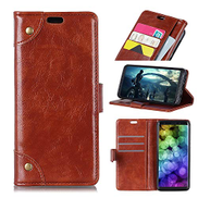 Copper Buckle Nappa Texture Horizontal Flip Leather Case with Holder & Card Slots & Wallet For iPhone 2018 6.1 inch Khouses Size : Ipxs0007z