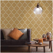 Megacare Damascus Rhombic Pattern Peel And Stick Wallpaper Self Adhesive Waterproof Easily Removable Wallpaper 45cm6m Price In Dubai Uae Compare Prices