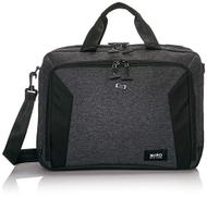 Solo New York Voyage Laptop Briefcase, Grey Black