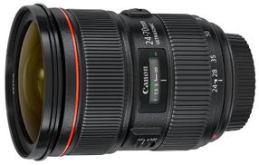 عدسة Canon EF 24-70mm f 2.8L II USM
