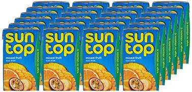 SUNTOP Mixed Fruit Juice, 24 x 250 ml