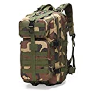 BAGBAG Compact Backpack Bag for Students, Business Professionals, Lightweight Unisex Backpack for School, Office Or Travel,Camouflage Color
