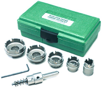 Greenlee - Carbide Cttr, Quick Chge, 6Pc, Hole Making 660
