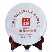 شاي Pu-erh 2017 Shimonoseki Dao Xue Shan Shang Pin Jin Si Pao Pu-erh شاي مطبوخ 357 جرام شاي كعكة 2017357