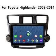 Dr.Lefran GPS Navigation System, 10.1 inch Android 8.1 Car DVD Player Stereo Radio GPS Navigation For Toyota Highlander 2009-2014 Car Multimedia Player,4g+wifi 2g+32g