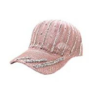 Cocity Fashionable Adjustable Relaxed Fits Decor Golf Snapback Baseball Cap Dad Hat for Women