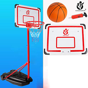 XZYB-lqj Q0183 Reinforced Portable Outdoor Basketball Court And Backboard System With Adjustable Height Basketball stand