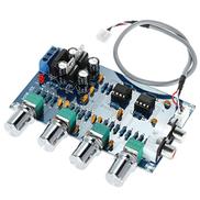 Andoer NE5532 Stereo Pre-amp Preamplifier Tone Board Audio 4 Channels Amplifier Board