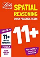 Letts Educational 11+ Spatial Reasoning Quick Practice Tests Age 10-11 for the CEM tests