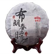 Pu'er tea 2016 old comrade Brown Chunxiao Pu'er cooked tea 357g cake tea Tea 2016 357