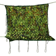 WY-Net 2m X 3m 6.5 X 9.8ft Woodland Camouflage Netting Army Camo Net for Sunshade Camping Hunting Hide, Shooting Hide Sunscreen Military Nets,Camping Shelters Size : 3 6m