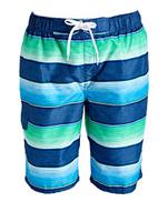 Kanu Surf Men's Legacy Swim Trunks Regular & Extended Sizes, Pipeline Navy Green, Large