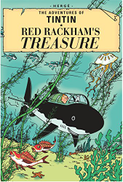 The Adventures of TinTin Red Rackham's Treasure by Herge - Paperback
