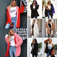 Festnight Winter Hoodie,Fashion Women Hooded Coat Cashmere Fleece Open Front Thick Warm Cardigan Jacket Outerwear Overcoat
