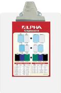 Aa-F36018 Alpha Acrylic Clipboard