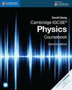Cambridge IGCSE Physics Coursebook with CD-ROM by David Sang - Hardcover