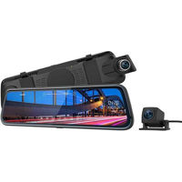 Thieye Rearview Mirror Dash Cam Dual Lens with Wide Angle Night Vision