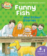 Oxford Books Oxford Reading Tree Read with Biff Chip and Kipper Level 2 Bind Up Funny Fish