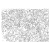 Omy Large Coloring Poster Tokyo