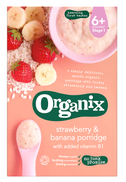 Organix Strawberry Banana Porridge 120g