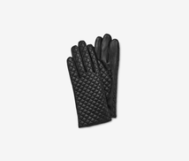 Fownes Brothers Women's Leather Gloves, Black