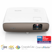 BenQ True 4K UHD HDR-Pro Projector with DCI-P3 Rec.709, 2000 ANSI Lumens, HDTV Compatibility W2700 Rec.709 HT3550