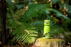 زجاجة ماء Camelbak المزلق Mag .4L ، أصدقاء الطعام المرح ، ROB BTS LE