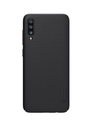Samsung Galaxy A70 Nillkin Frosted Shield Super Hard Back Case Protective Cover Black For