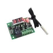 Generic XH-W1209 ترموستات رقمي عالي الدقة متحكم في درجة الحرارة وحدة تحكم في التبريد والتسخين لوحة صغيرة مع شاشة LED حمراء W1209