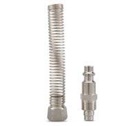 Own Buy Brass Coupling with Spiral Hose 8 x 10 mm