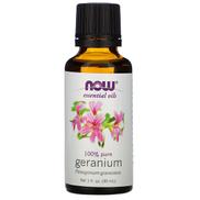 Now Foods, Essential Oils, Geranium, 1 fl oz 30 ml