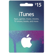 Apple iTunes Card 15 USD