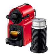 Nespresso Inissia Espresso Maker Coffee Machine C40BU-RE Black Silver Red C40BU