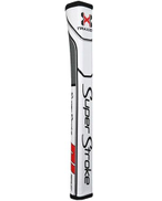 Superstroke Traxion Pistol GT 2.0 Grip - White Red Gray