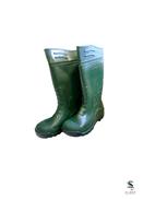 PVC Non Safety Boots White-37 - 38