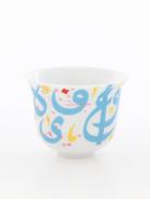 SILSAL DESIGN HOUSE Silsal Tarateesh Arabic Coffee Cup Turquoise