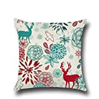 Animal Elk Cushion Cover For Sofa Home